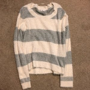 LC Lauren Conrad Fuzzy Sweater